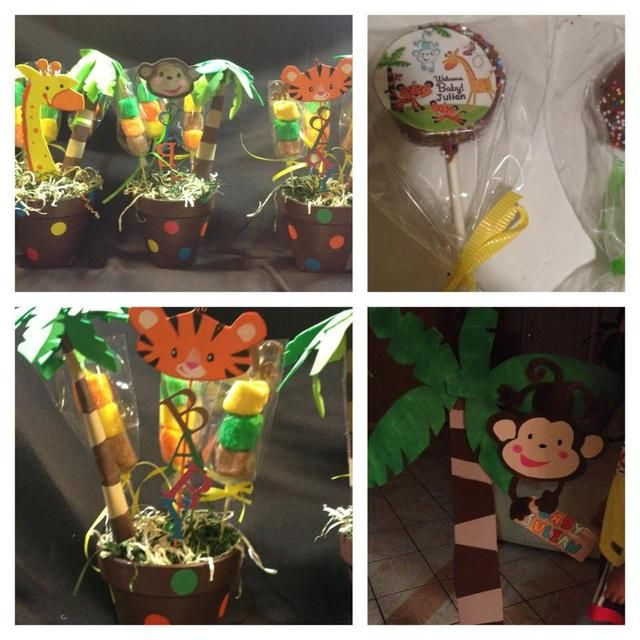 Captivating Animal Of Rainforest Fisher Price Baby Shower Party Ideas
