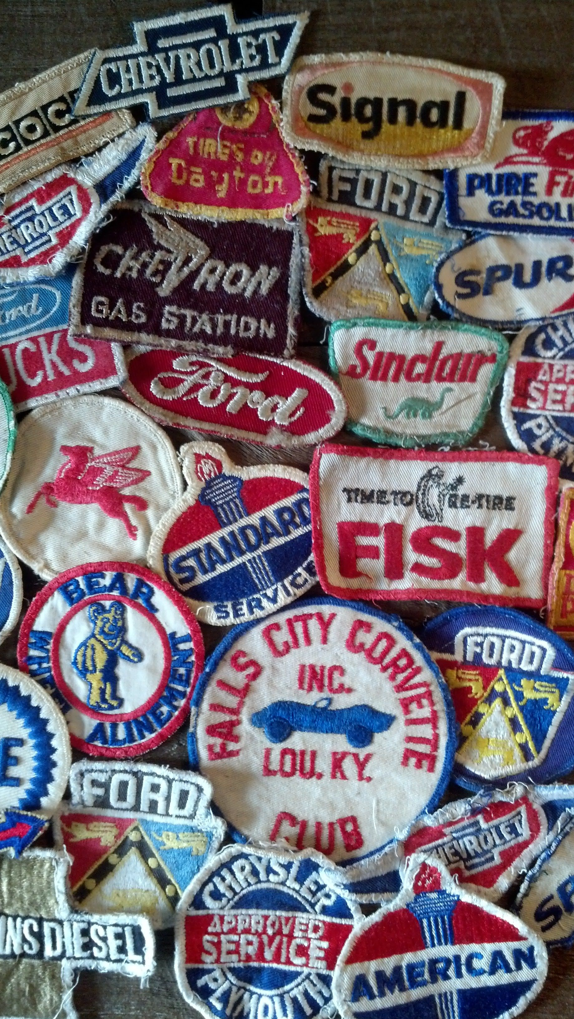 Great Vintage Patches!! | Last Chance Gas - Vintage