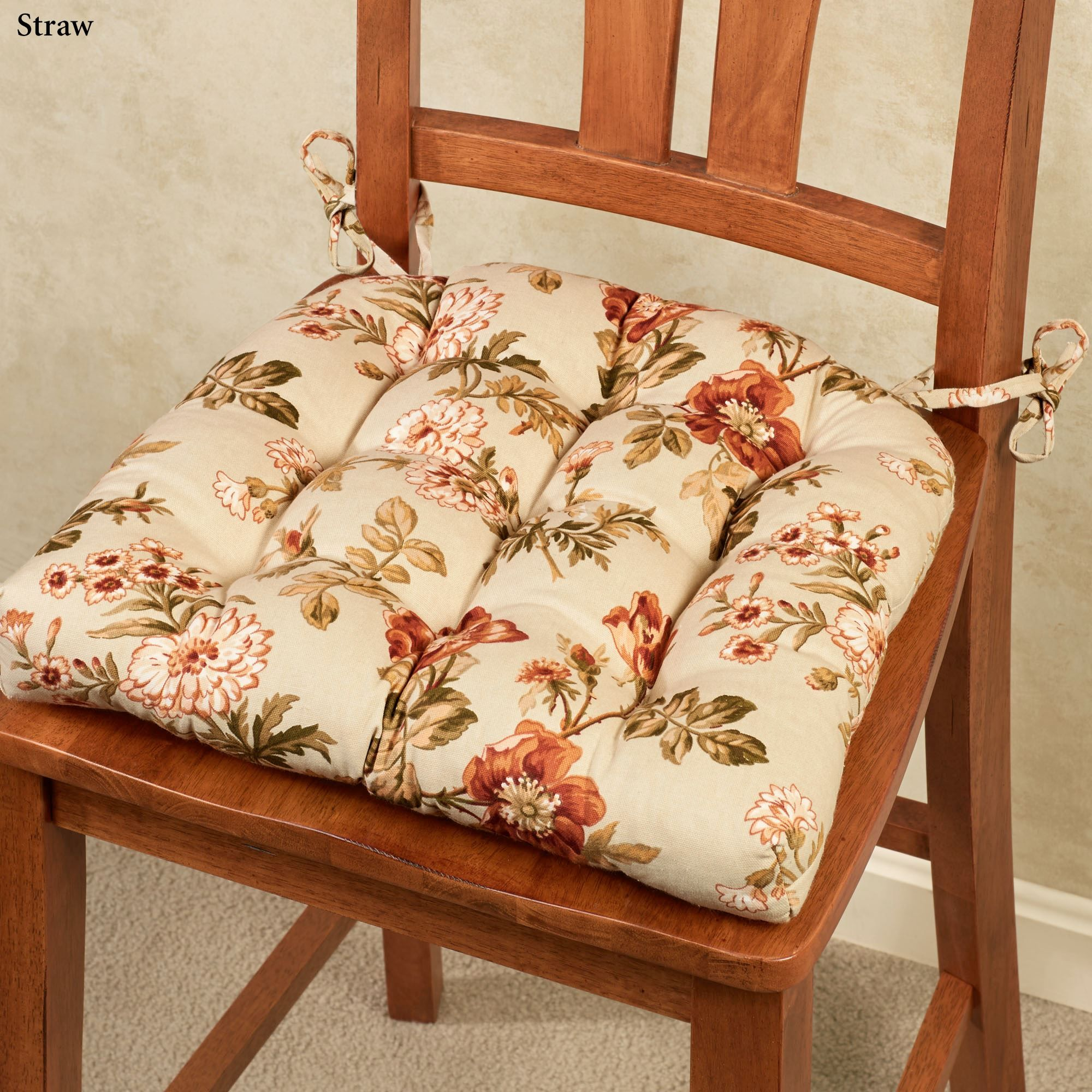 Pharrell Floral Chair Cushion Set Of 2 Chair Cushions Floral Chair Cushions