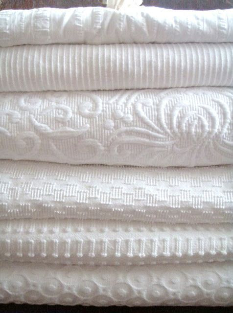 Delightful White Coverlets Iu0027ve Added To My Linen Closet. Iu0027m A Fanatic For Using Only  Cotton On The Beds (thereu0027s Nothing More Comfortable For Sleeping), ...