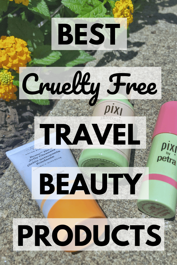 Best Cruelty Free Travel Beauty Products To Bring With You On A Trip   #crueltyfree #crueltyfreebeauty #beautyproducts #makeup #beauty