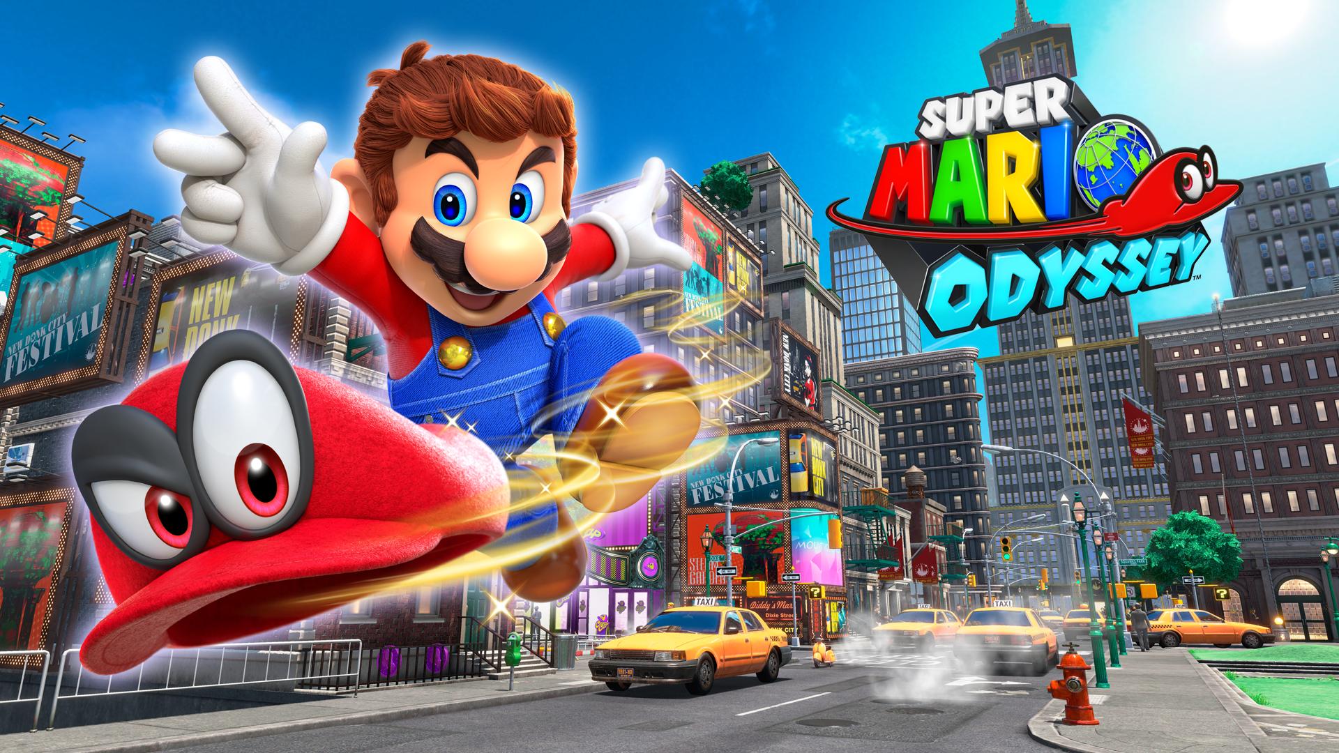 Super Mario Odyssey Super Mario Mario Play Super Mario