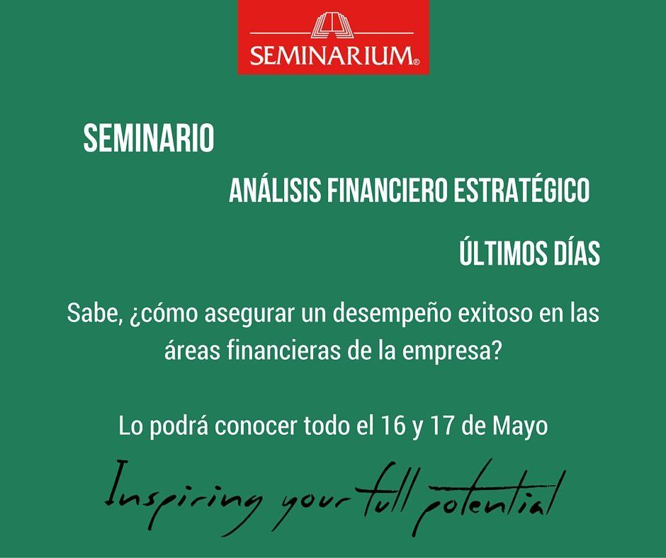 Pin By Seminarium Colombia On Anlisis Financiero Estratgico