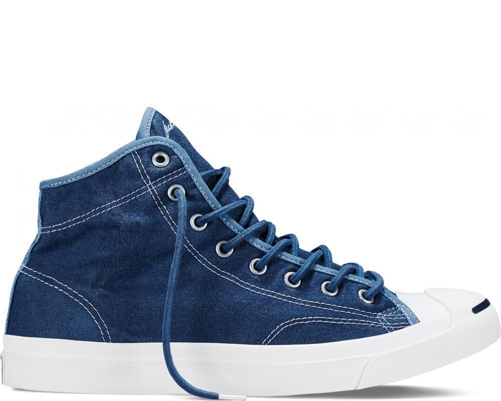 c4b0b316c686 NEW CONVERSE JP JACK PURCELL JACK MID Wool Canvas MENS Navy 149936C   Converse  AthleticSneakers