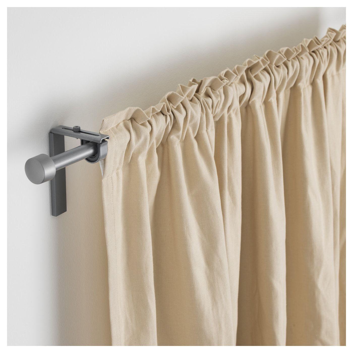 Racka Curtain Rod Combination Silver Color 47 1 4 82 5 8