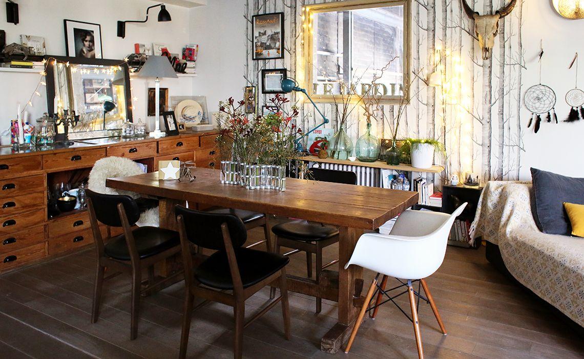 Alexandra Pantin Inside Closet Deco Salle A Manger Sallon Salle A Manger Relooking Meuble