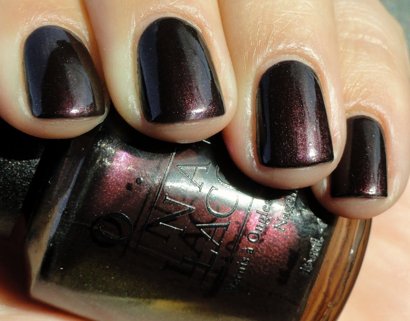 OPI — Black Tie Optional (World Collection | Fall/Winter 2001)