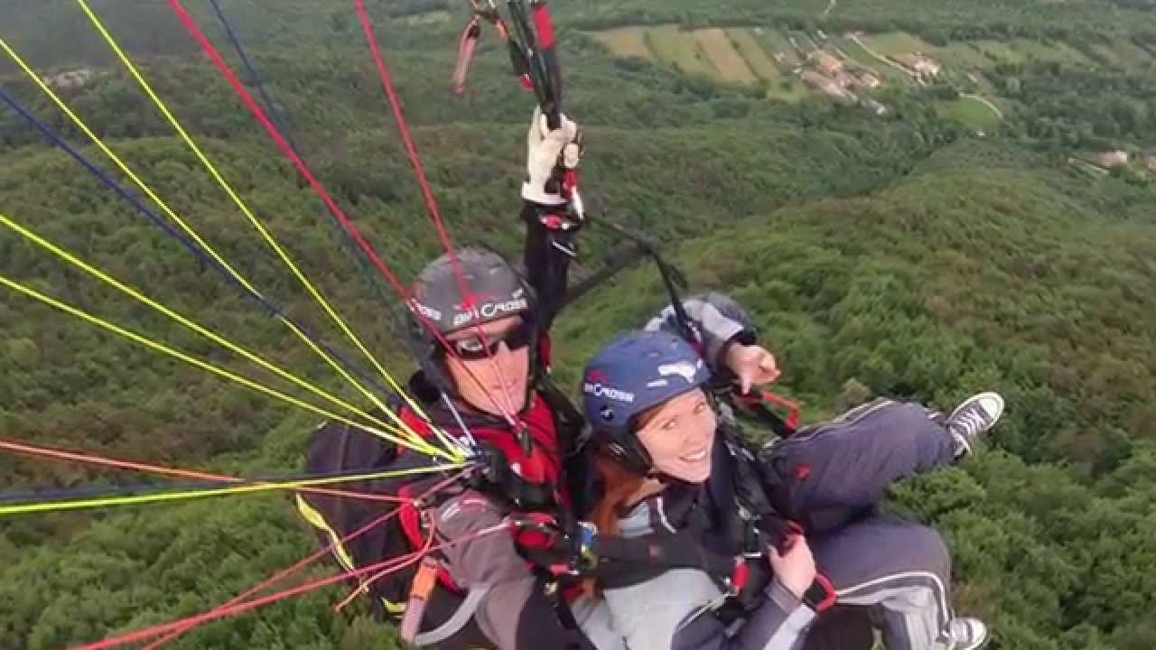 cimba glide paragliding off