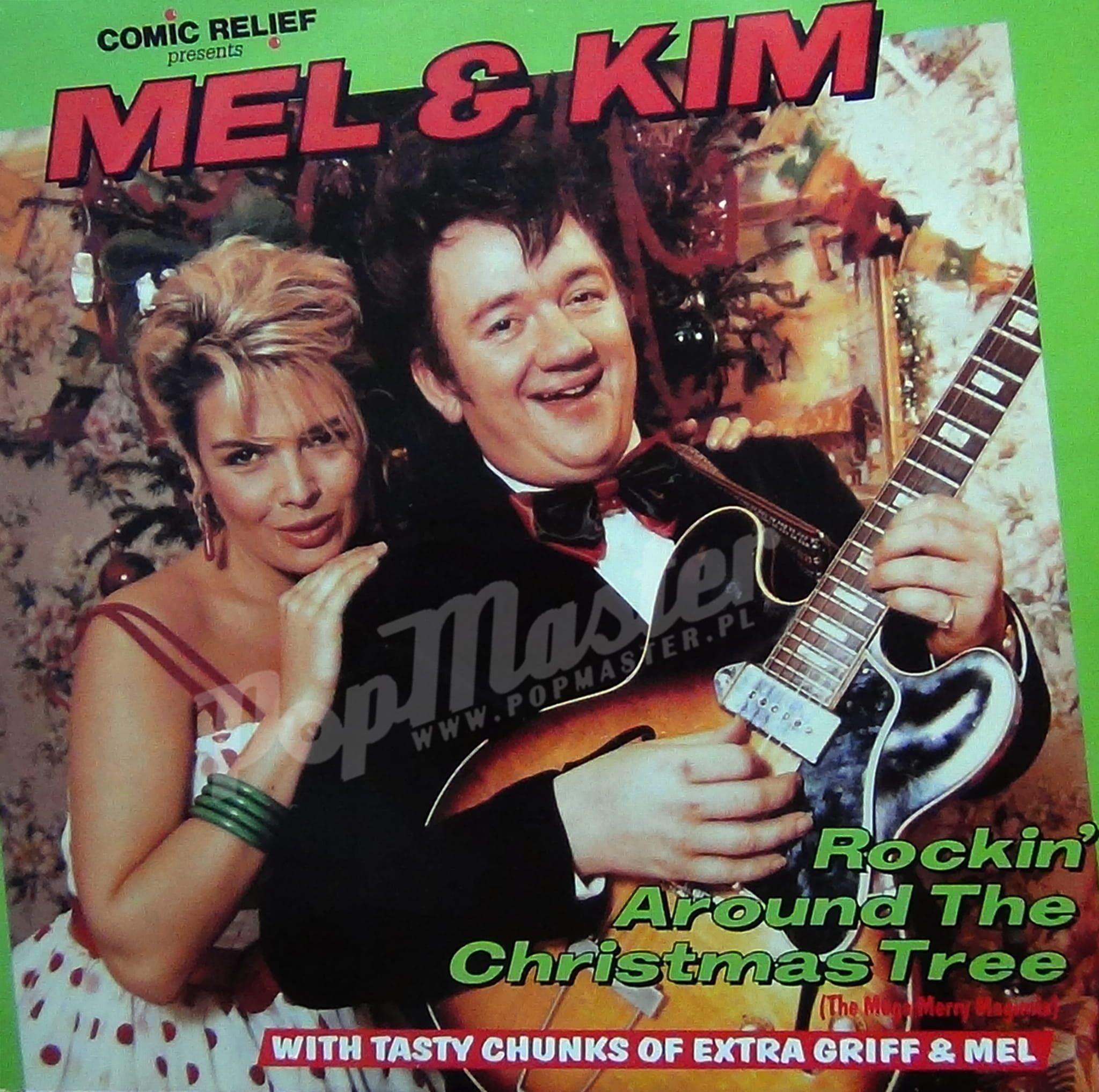 Comic Relief Presents Mel & Kim Rockin' Around The Christmas Tree TEN 212 | Winter songs, Stars ...