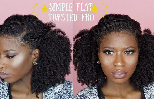 Flattwist1 Natural Hair Wedding Natural Hair Styles Hair Styles