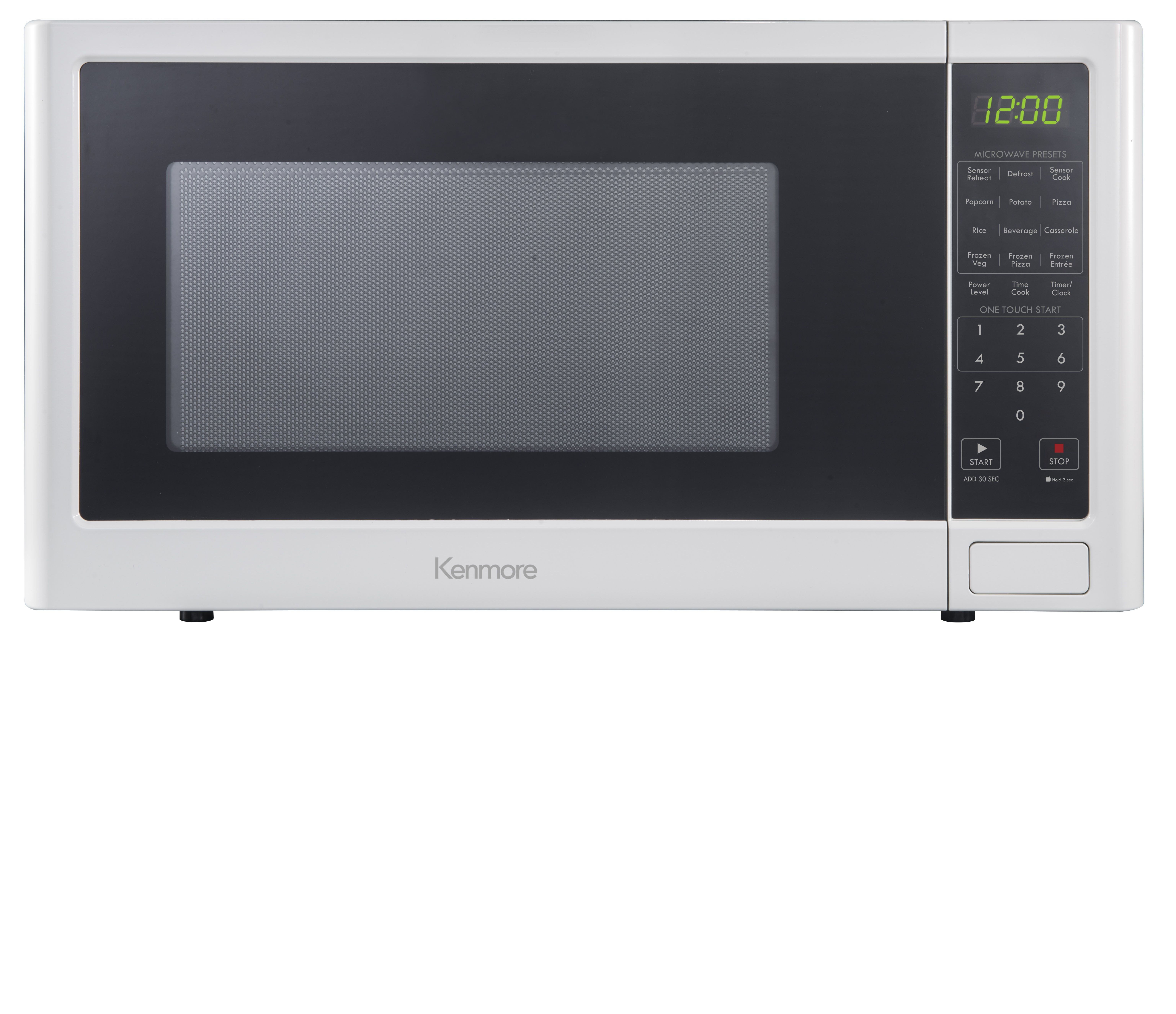 Kenmore 76982 1 6 Cu Ft Microwave Oven White Countertop