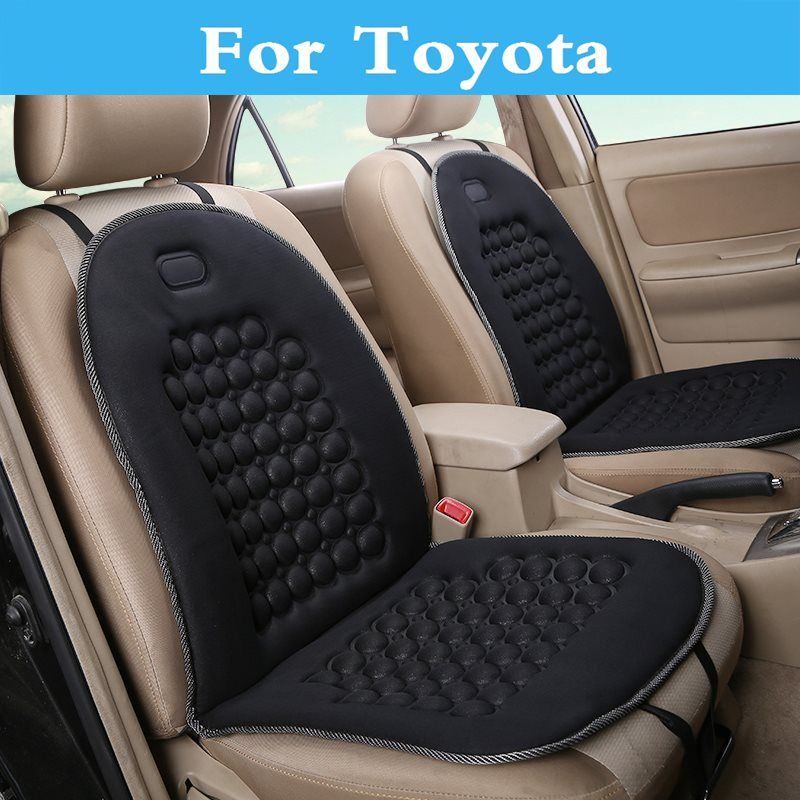 New 12v Car Round Massage Seat Covers Cushion Supplies Styling For Toyota Verossa Vios Vitz Will Cypha Windom Car Seats Leather Car Seats Interior Accessories