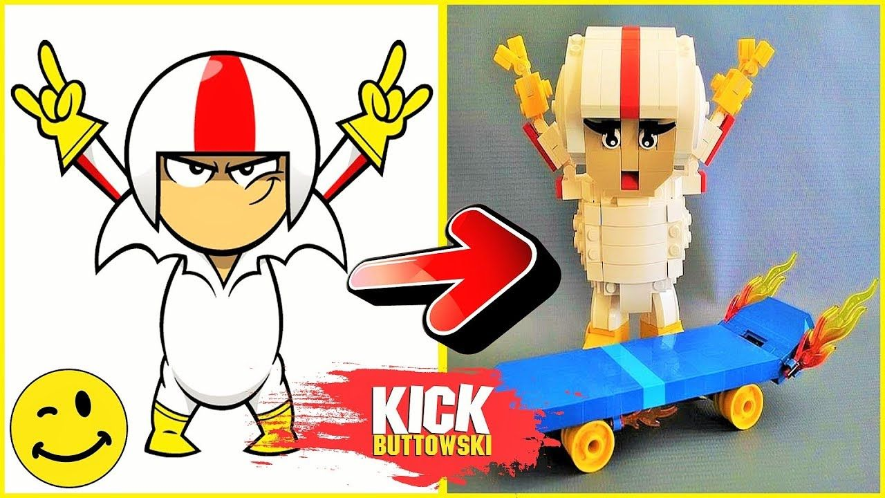 Kick Buttowski As LEGO Characters