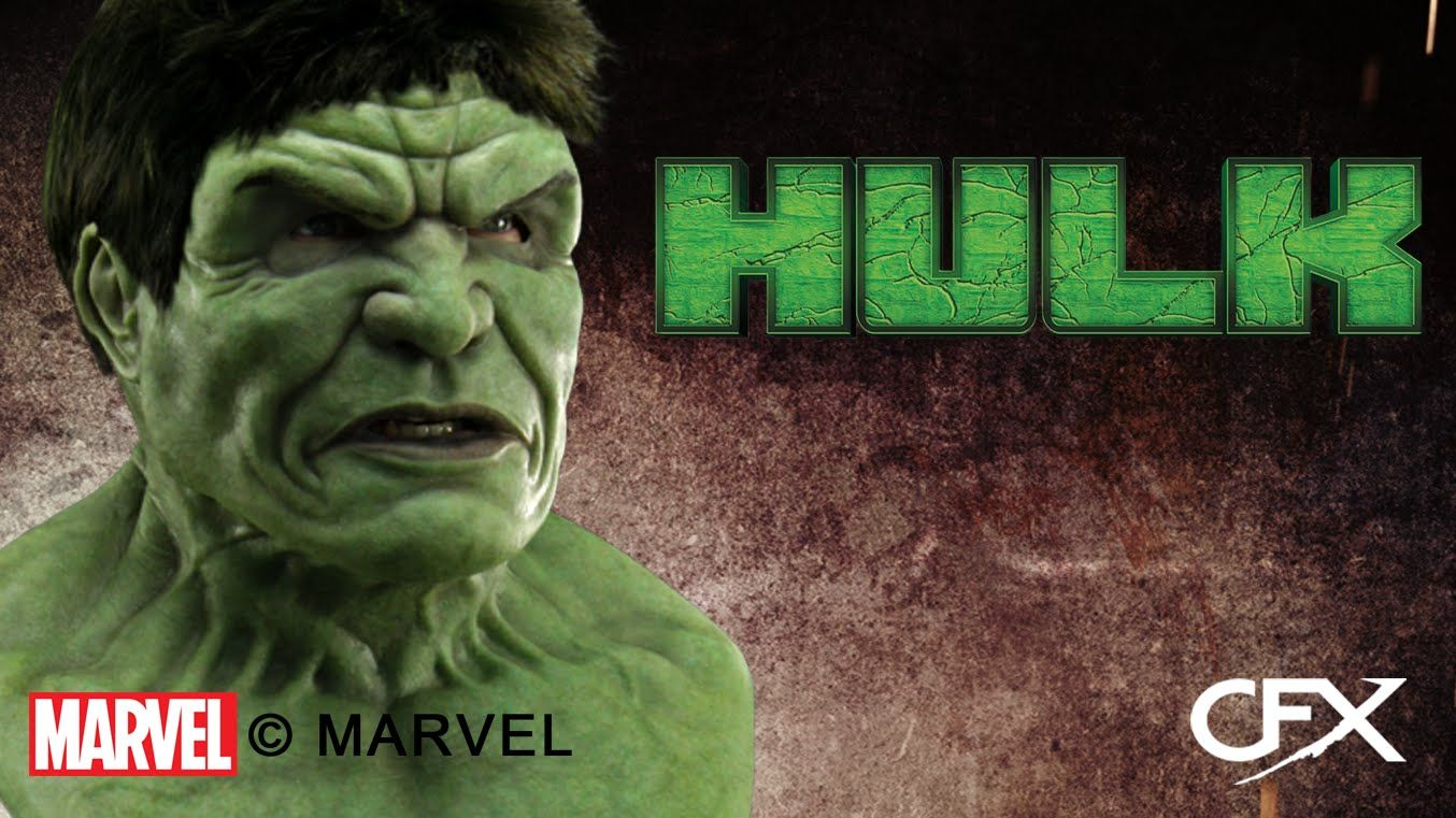 CFX MARVEL The Incredible Hulk Silicone Mask Try On Demo