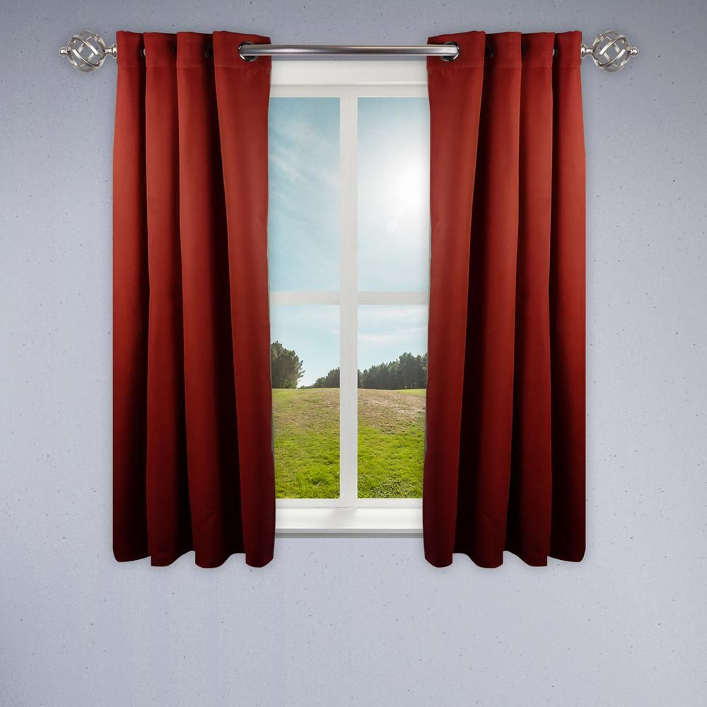 Ukeen Decorative Curtain Rod Adjustable Curtain Rod Drapery Rod