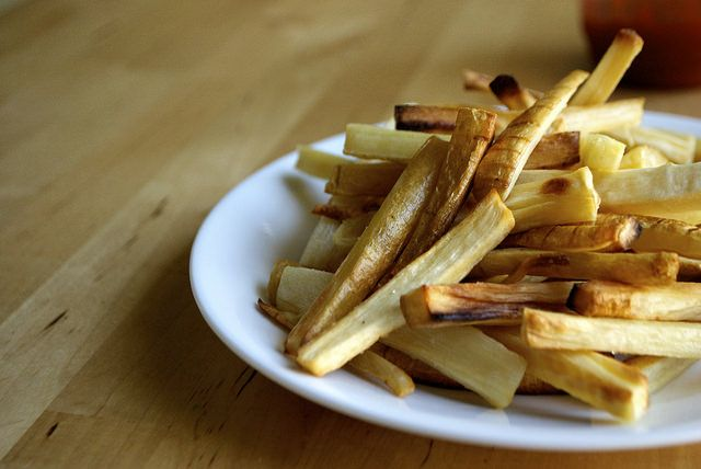 Parsnip Fries with Sriracha-Spiked Ketchup   Kitchen in the Hills
