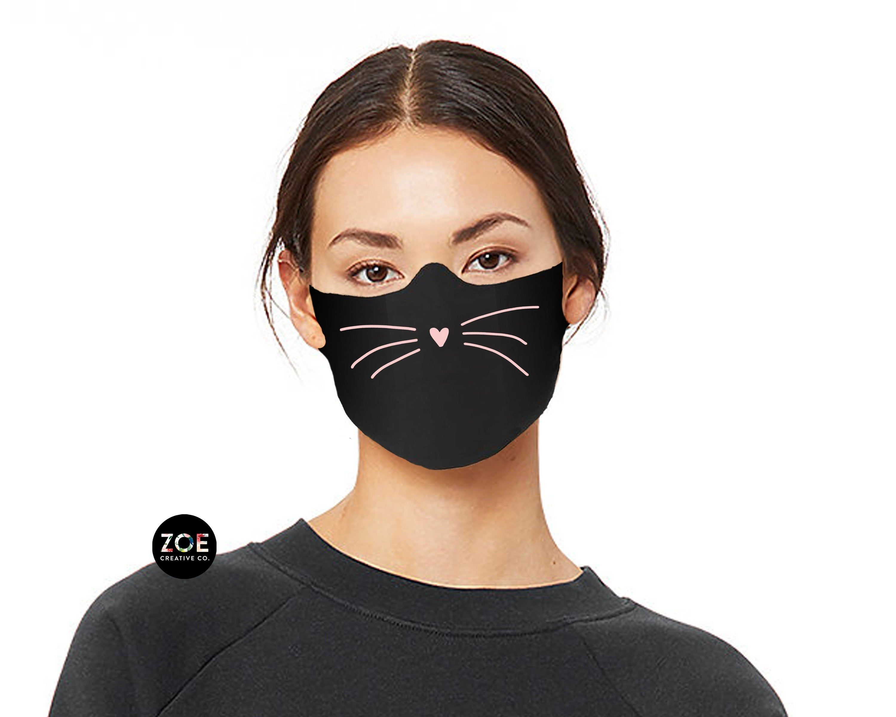 Pin On Cat Face Mask