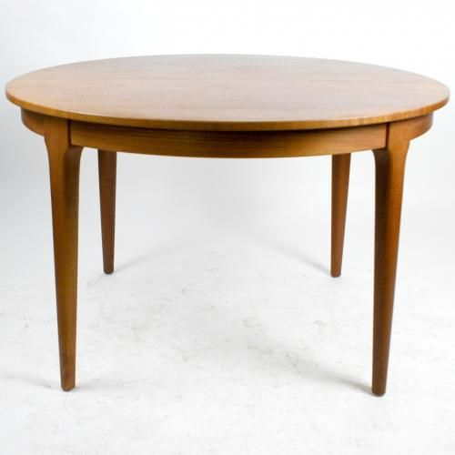 Dänischer Runder Ausziehbarer Esstisch Von Frem Røjle, 1960er | Extendable  Dining Table, Danish And Modern