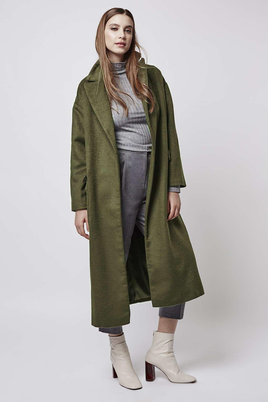 Longline Slouchy Coat Topshop | coats | Pinterest | Coats, Topshop ...