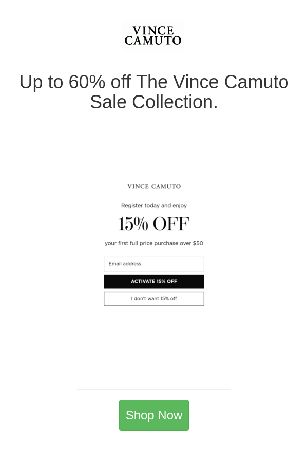 Best Deals And Coupons For Vince Camuto In 2020 Online Fashion Stores Vince Camuto Vince
