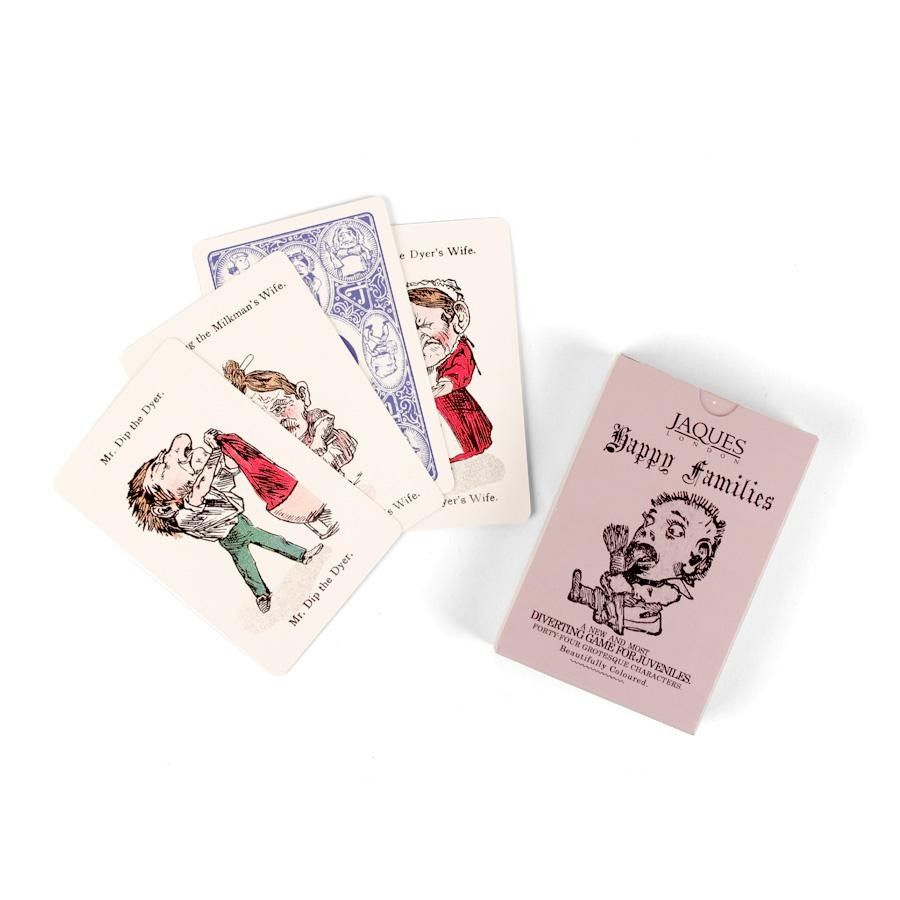 Happy Families Playing Cards With Images Family Cards Playing
