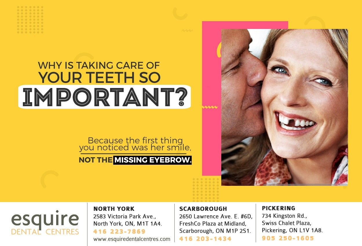 If you're missing teeth, dental implants from Esquire