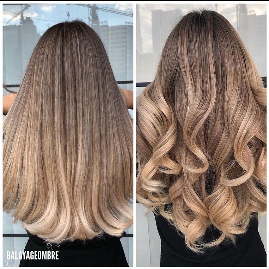 """•• BALAYAGE INSPO •• on Instagram: """"Left or right 😍 @balayageombre"""""""