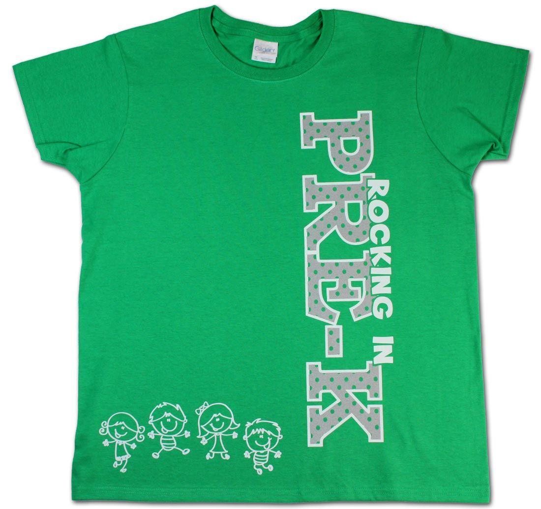 Preschool Teacher T-shirt - Full Heart | Pre-K Back to School ...