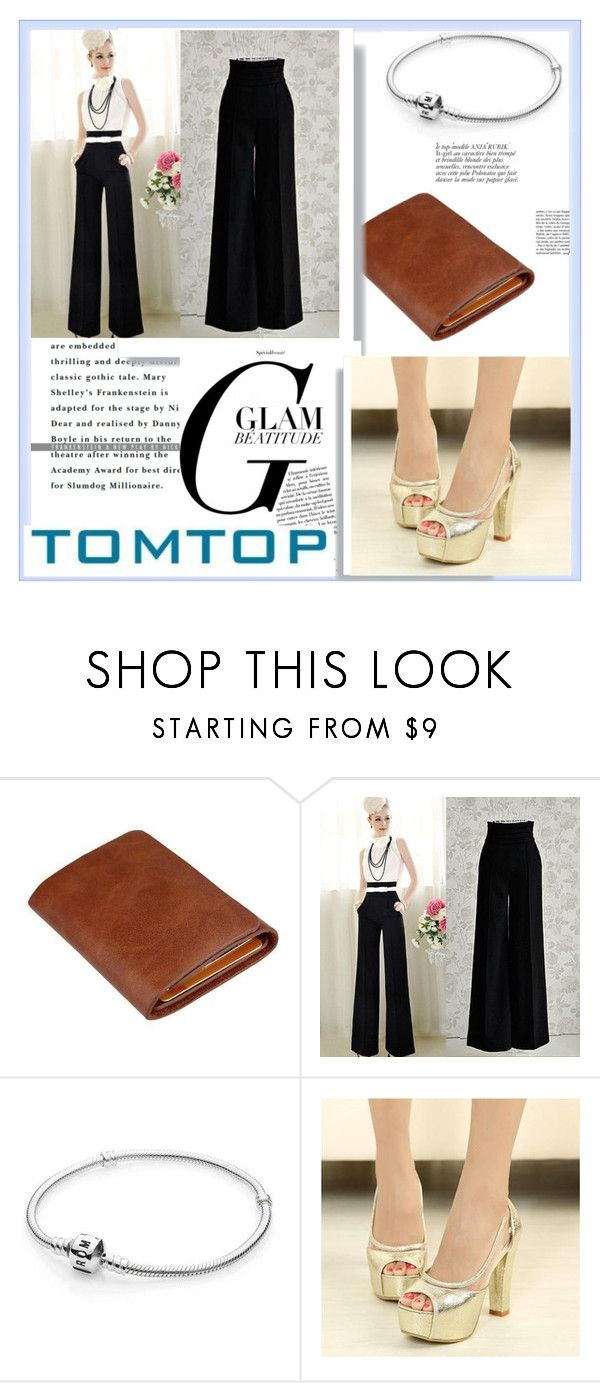 """TOMTOP+ 6"" by damira-dlxv ❤ liked on Polyvore featuring Anja, vintage, tomtop and tomtopstyle"
