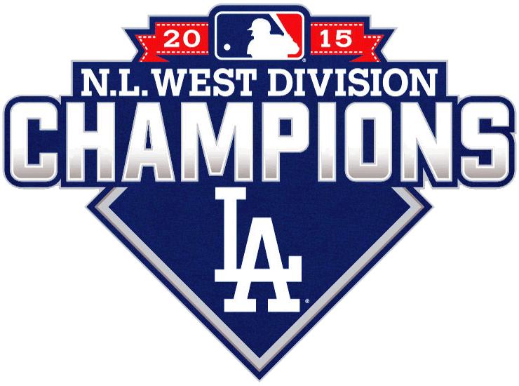 de5f6caac Los Angeles Dodgers Champion Logo (2015) - Los Angeles Dodgers 2015 NL West  Division Champions logo