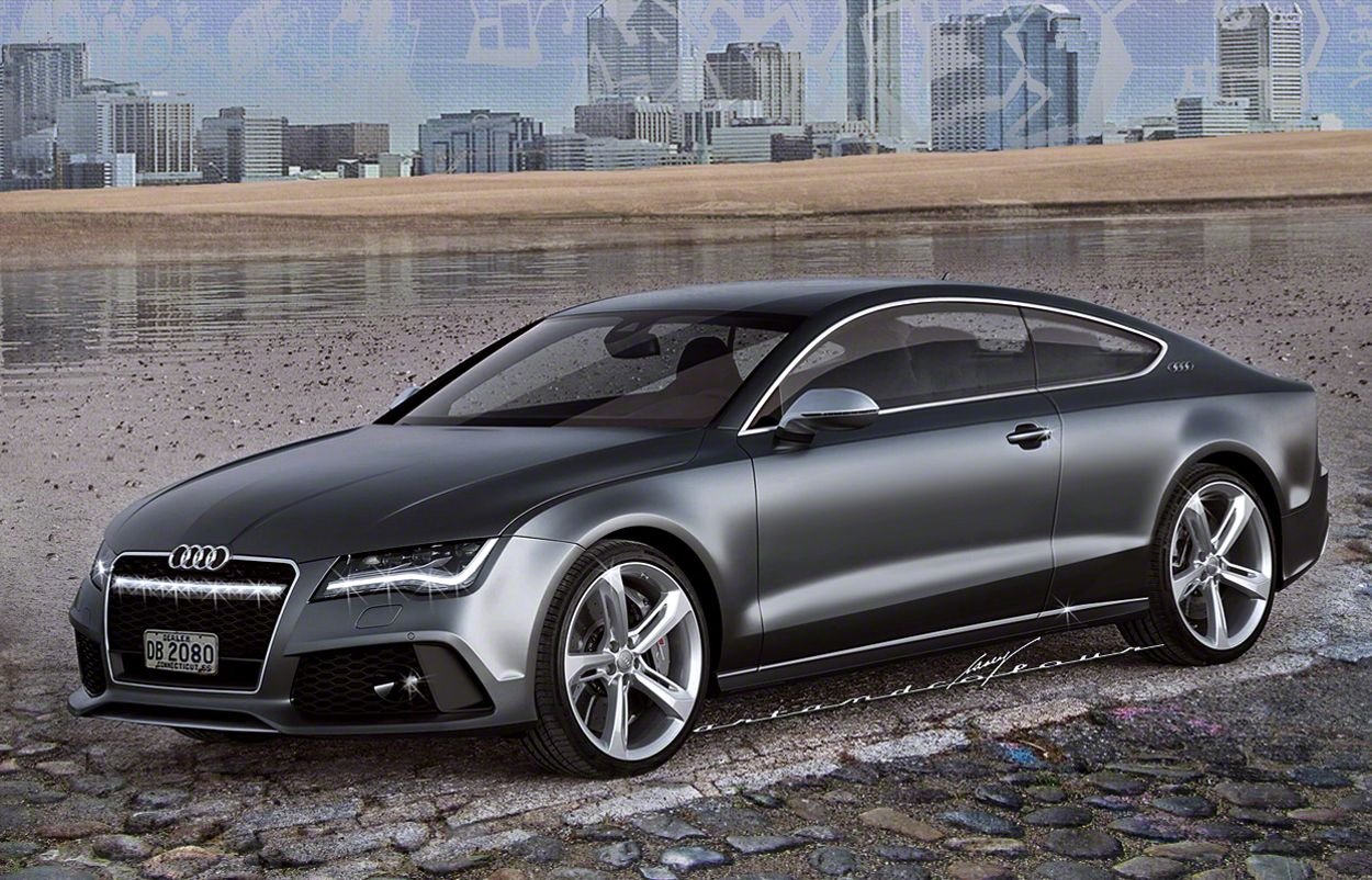 Audi Needs A Sleek And Large 2 Door To Compete With The New Mb S Coupe Fancy Cars Conceptual Design Sports Wagon