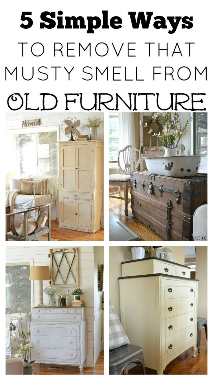5 Simple Ways To Remove That Musty Smell From Old Furniture Easy Tips And Tricks Eliminate Odors Vintage