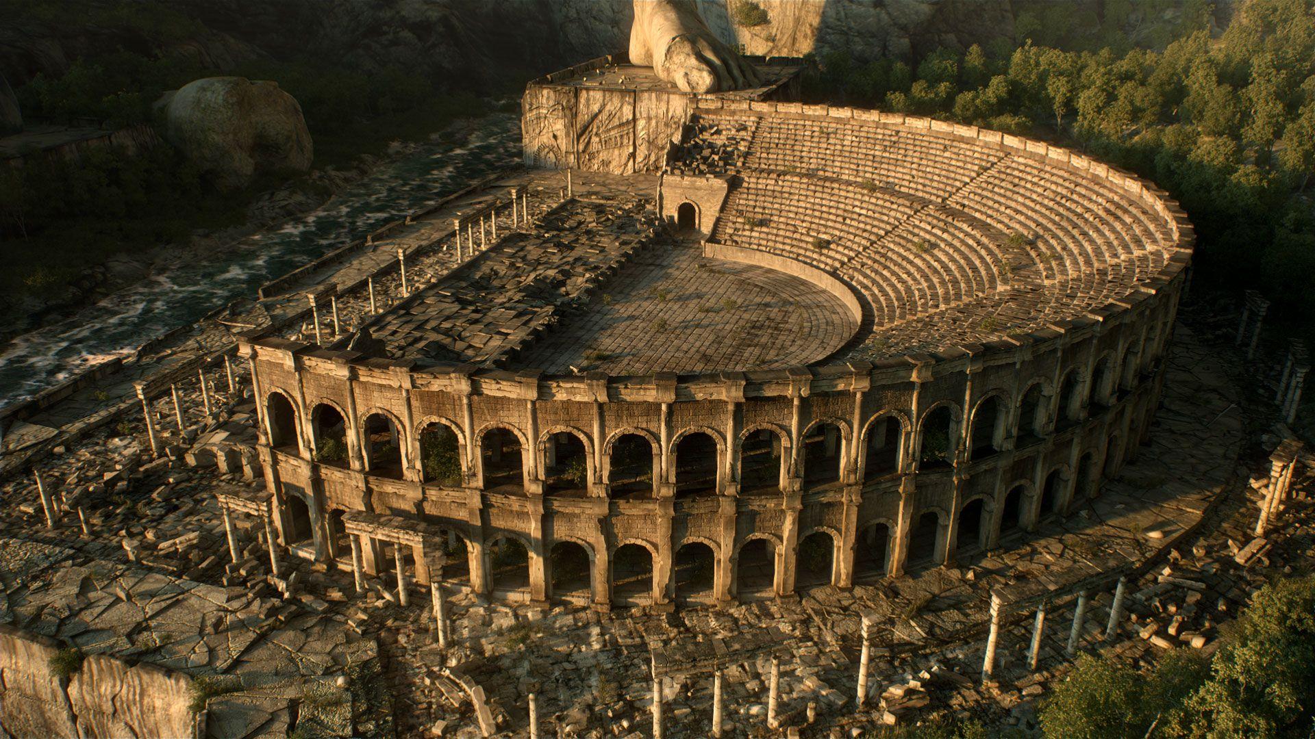 Ancient Ruins Cgfeedback Greece Wallpaper Ancient Ruins Ancient Greece