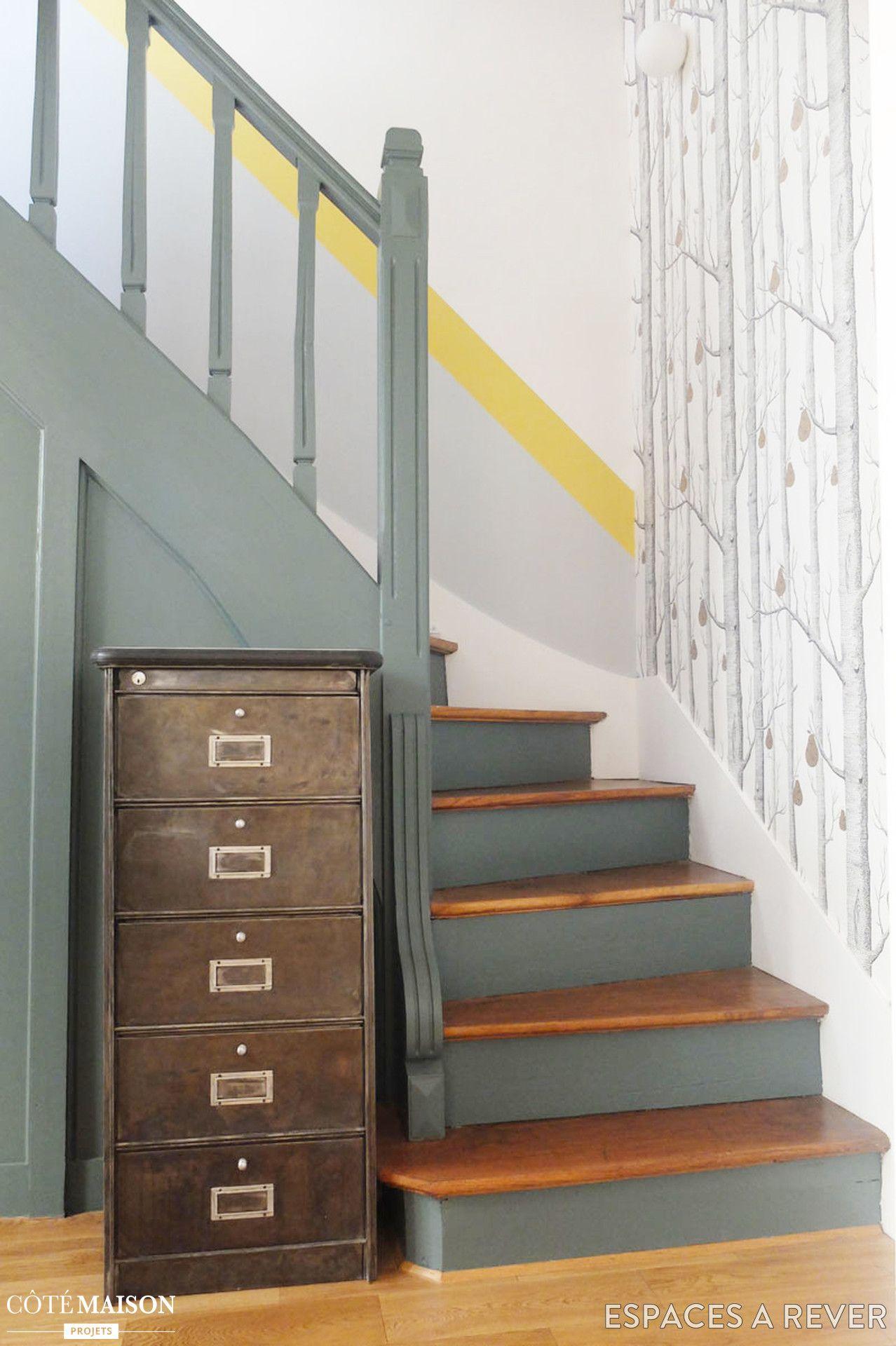 Rénovation en couleurs d\'une maison familiale à Saint-Ouen ...