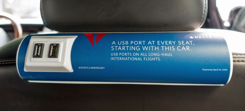 Delta Put the Most Useful Ad Ever Inside Uber Cars