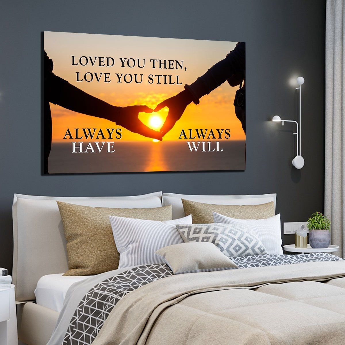 cheap canvas wall art quotes