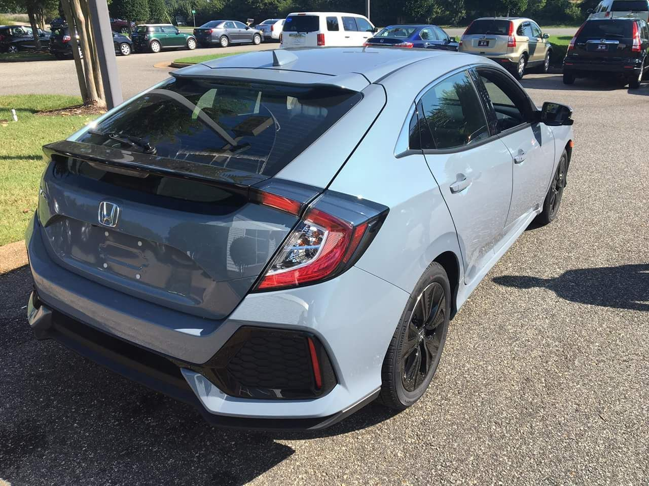 Honda Sonic Grey Pearl (With images) Honda civic