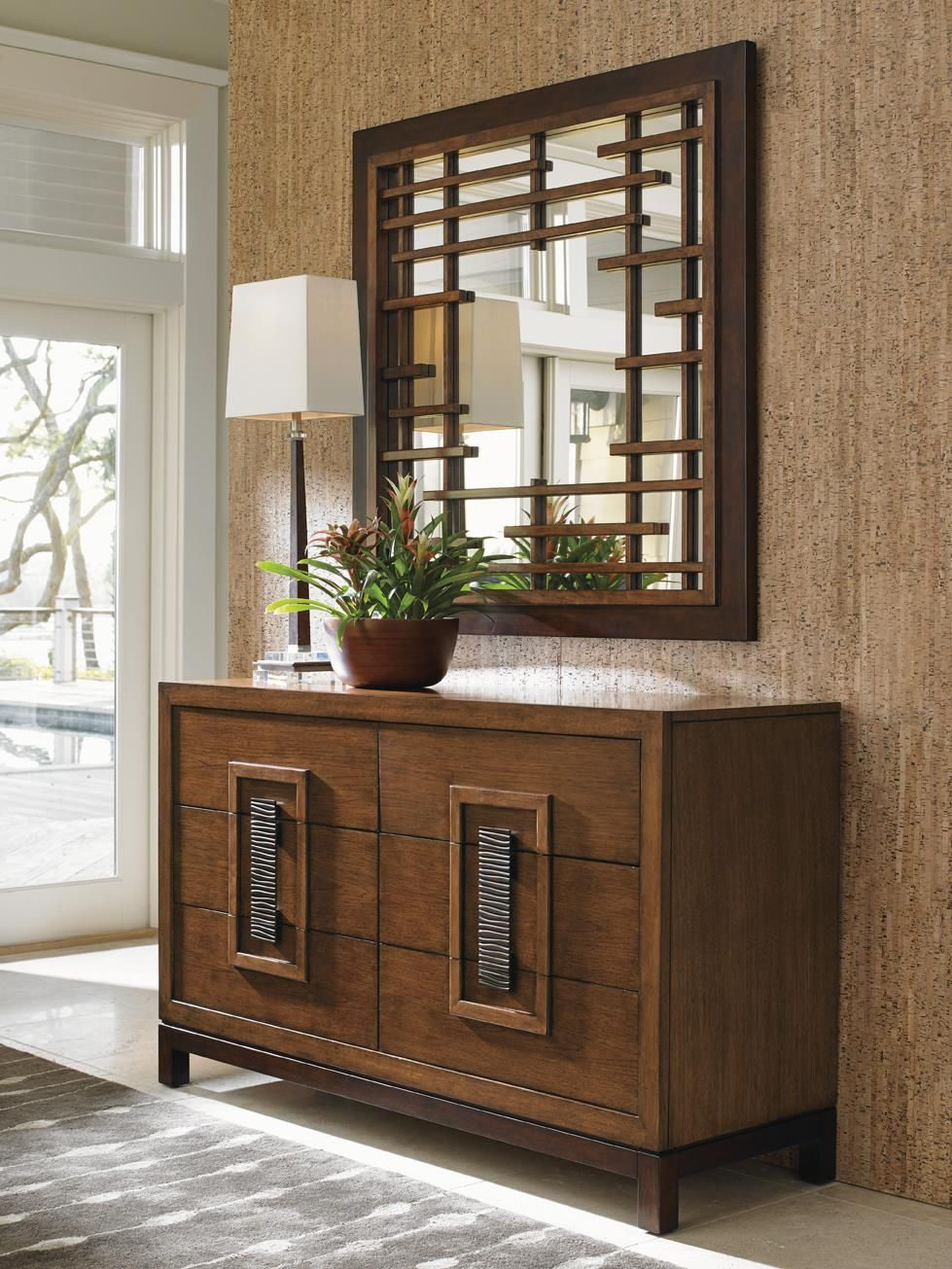 Island Fusion Tahara Dresser by Tommy Bahama Home (With