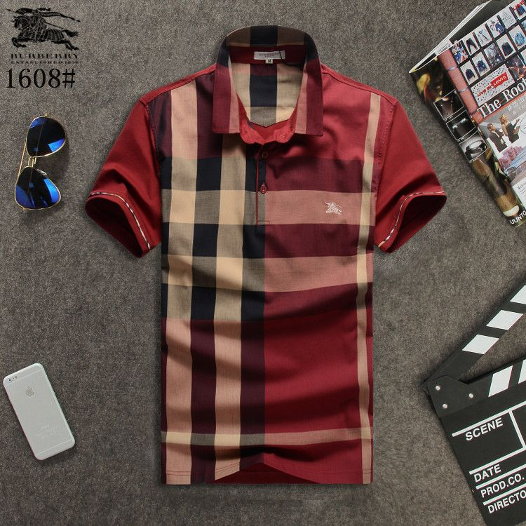 7db8a096deca burberry mens tshirts   Replica Burberry T-Shirts for MEN  210697 express  shipping to