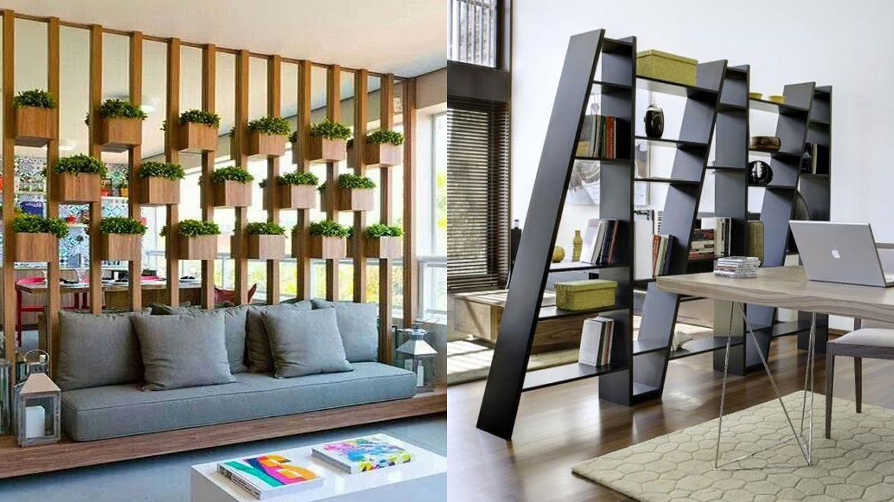 5 Room Divider Ideas : Temporary Wall Partition Home Decoration