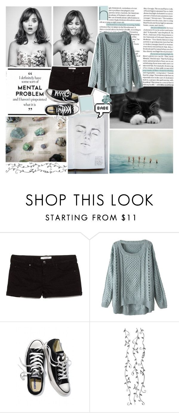 """☽✧ sell your soul, not your whole self"" by blonde-scorpio-xo ❤ liked on Polyvore featuring MANGO and Victoria's Secret"