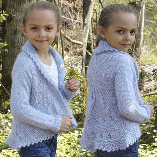 child cardigans knitting pattern girls