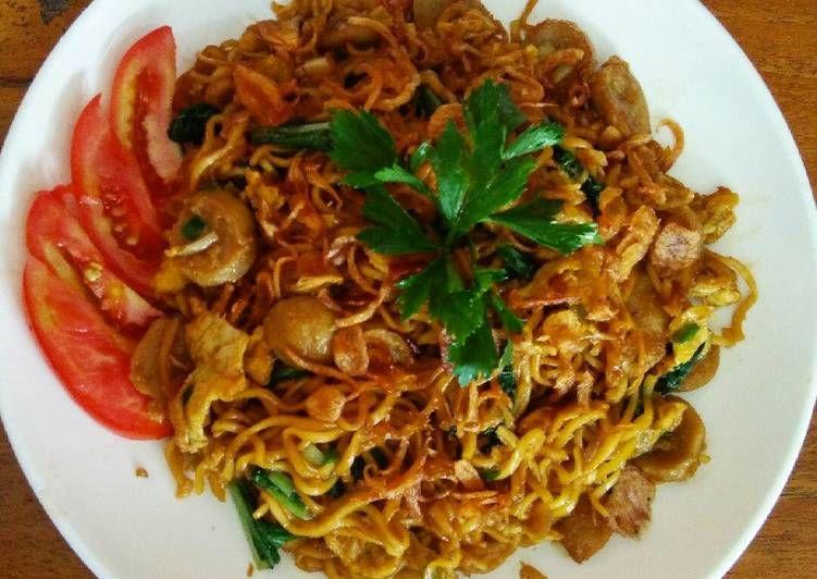 Resep Mie Bakmi Goreng Jawa Oleh Santy Ermawati Resep Resep Masakan Indonesia Resep Masakan Makanan Sehat