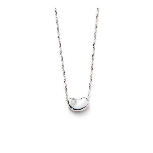 Tiffany co bean sterling silver pendant necklace aloadofball Gallery