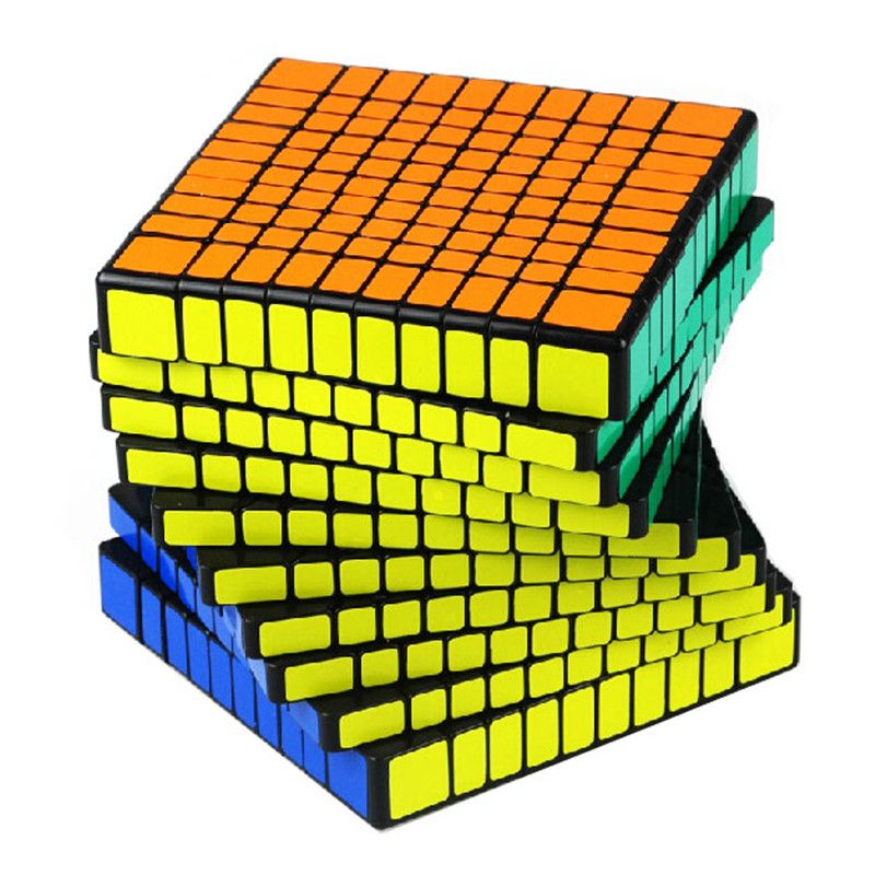 $112.98 (Buy here: http://appdeal.ru/evgo ) 2015 New Brand Shengshou 10x10x10 Professional Speed Cube Puzzle 10x10 Cubo Magico 10.2cm twisty Educational Toys for just $112.98