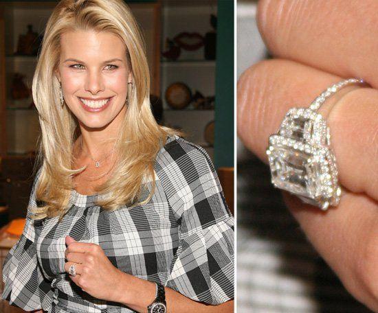 Beth Ostrosky Celebrity Engagement Rings Engagement Celebration
