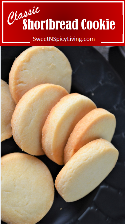 [VIDEO] Small Batch Smooth & Creamy Shortbread Cookie – Easy & Simple Recipe for All Occasion