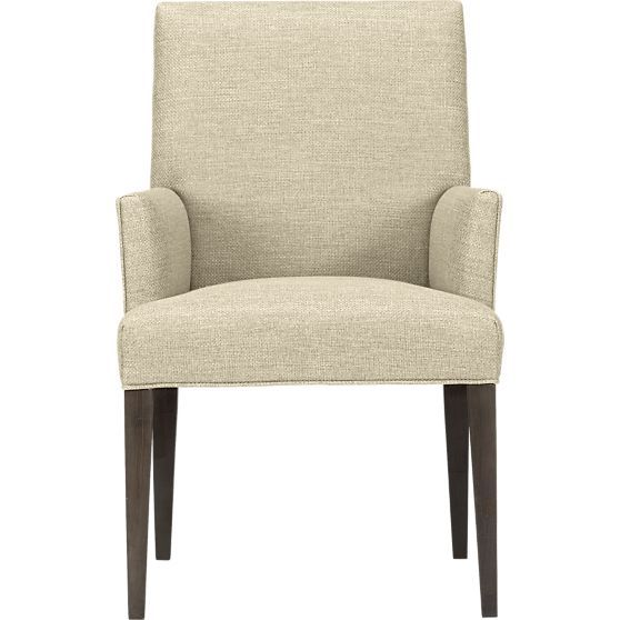 Miles Arm Chair Crate And Barrel Bahls Pinterest Crates