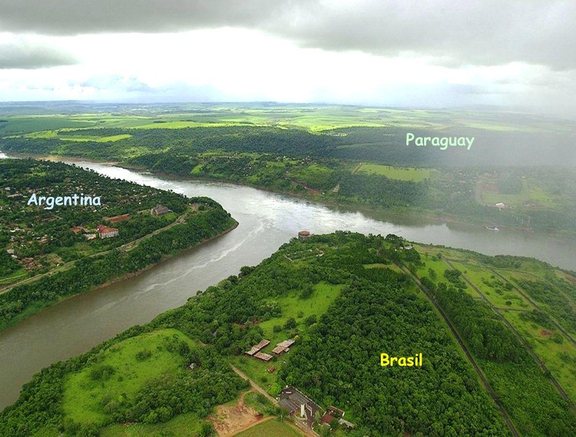 Frontera Argentina - Brasil - Paraguay