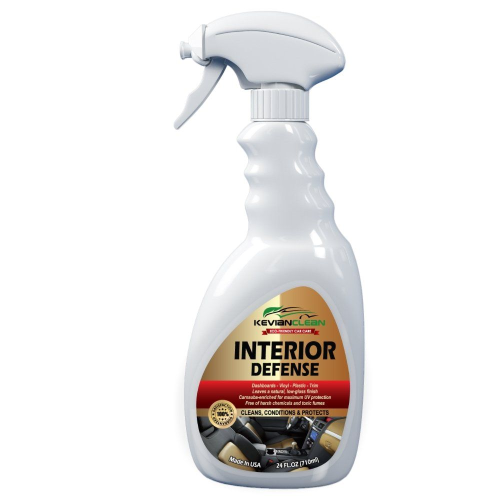 Kevianclean Interior Defense Car Dashboard Cleaner Uv Protection Spray Vinyl Upholstery Plastic Trim